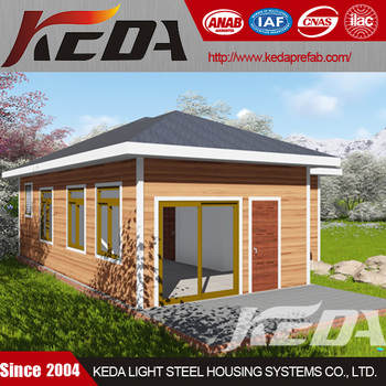 Easy Installed Modular Home Steel Prefabricated House Residential