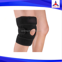 Padded long knee supports Medial Lateral knee brace