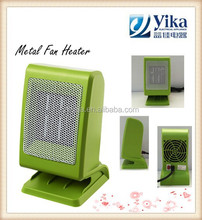 mini electric small gift ptc fan heater comfort air for table quiet working
