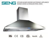 stainless steel commercial extractor hood kitchen cooker hood