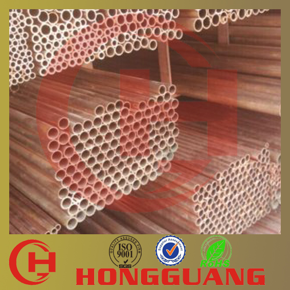 seamless 4mm straight copper tube with ASTM B88