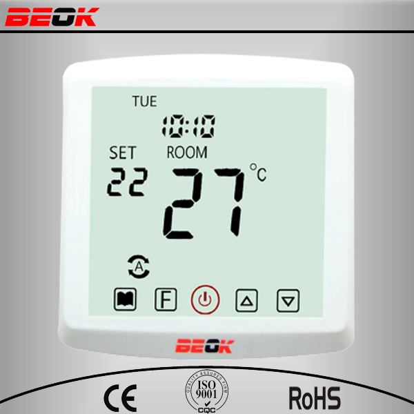 5+1+1 weekly 4 times periods Programmble touch screen HeatingThermostat