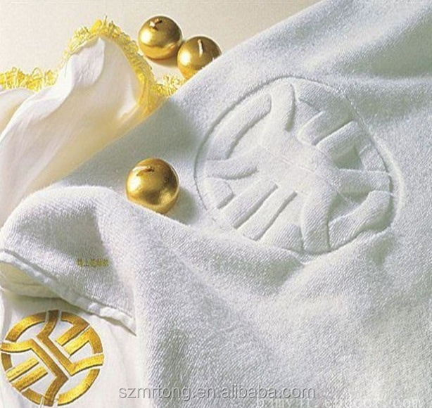 China factory price 70*140cm jacquard 100% cotton hotel bath towel