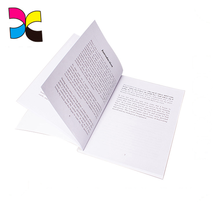Guangzhou factory very cheap perfect binding type book printing