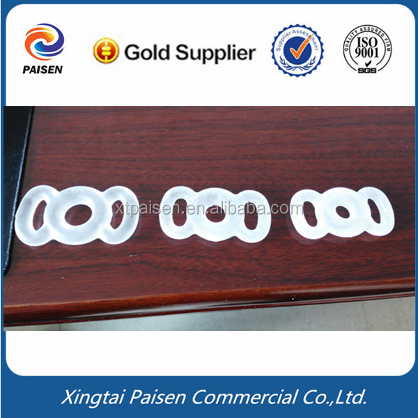 DHL shipping clear transparent soft food grade elastic penis silicone o-ring/pump rubber sealing ring
