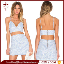 Stylish Women Sex Wear Two Piece Set Designer Printed Clothing For Women