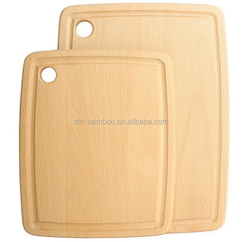 High-grade Oak Wood Cutting Board with good quality,Beech Wooden sushi chopping board for food Wholesale