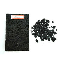 "Recycled Rubber Granules Prices For 1"" Thick Rubber Flooring FN-X-17052204"
