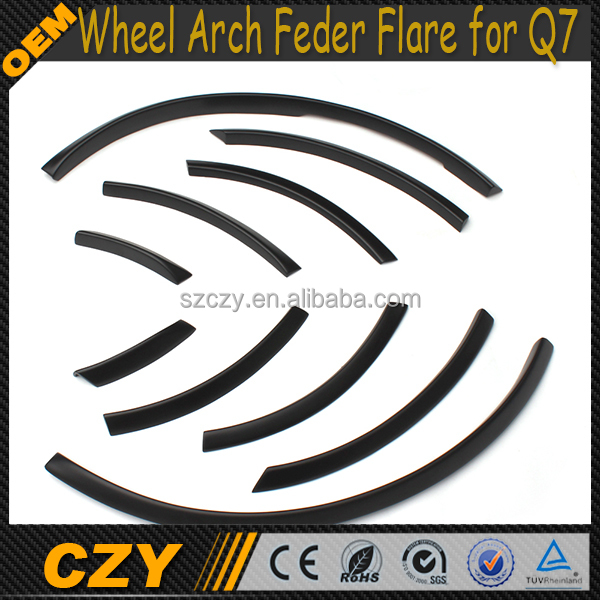 PU Car Wheel Arch Eyebrow for Audi 10-13