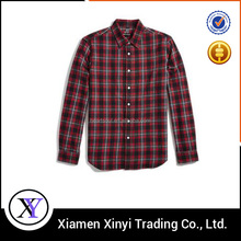 Wholesale Custom Best Quality Button Down Fashion Men Padded Flannel Shirt