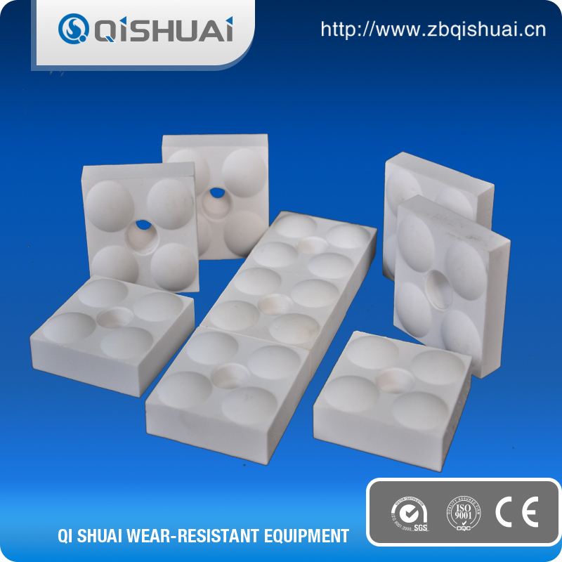 High Hardness 92% Heat Resistant Ceramic Brick