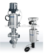 FH sanitary double seat mix-proof valve