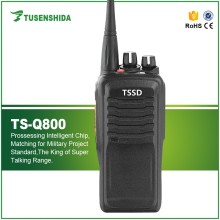 10W Best long range woki toki with 3800mAh large battery capacity TS-Q800 handy talkie walkie 20km range