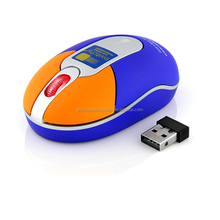 2.4G wireless mini cute laptop mouse for premium gift