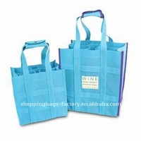 Nonwoven wine bottle bag for picnic (glt-w0034)