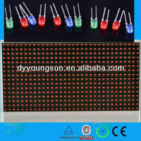 p10 red led display alibaba china produces tv