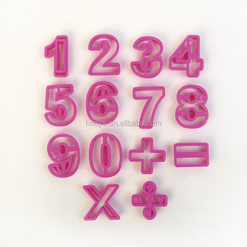 15PCS FIGURES COOKIE CUTTER