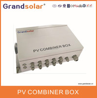 5 IN 1 OUT LIGHTING PROOF SOLAR PV PANEL COMBINER BOX PLASTIC JUNCTION BOX