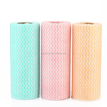 Alibaba china factory disposable spunlace nonwoven fabric kitchen cleaning wipes