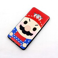 Cute and interesting silicone mobile phone case for A7