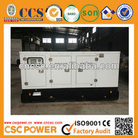 On sale! High quality 50kva Soundproof with cummins engine self powered electric generators