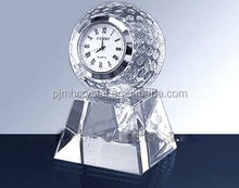Cheap creative crystal small desk digtal clock for souvenir gifts MH-ZB0016