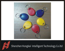 13.56mhz Contactless Smart Key Fobs for gym