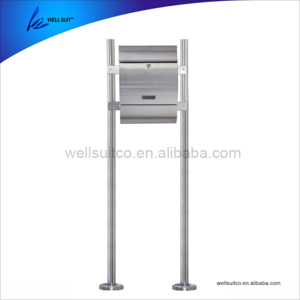 outdoor newspaper delivery box stainless steel