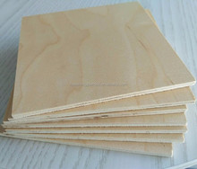 Carb P2 Poplar core canadian maple plywood for furniture