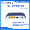 4GE + WIFI EPON ONU RJ45 LAN Port Wireless HGU Supported Firewall/QoS/VPN