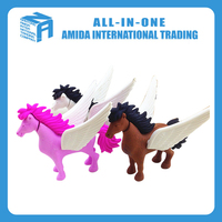 animal shape 3D pencil eraser for school or promotion