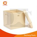 customized household pp hollow storage box