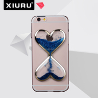 New Product Transparent TPU Case Love Quicksand Mobile Phone Cover For iphone 6 6s XR-PC-90