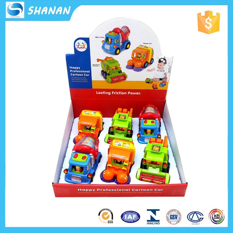 Hot selling multiple plastic car happy kid toy