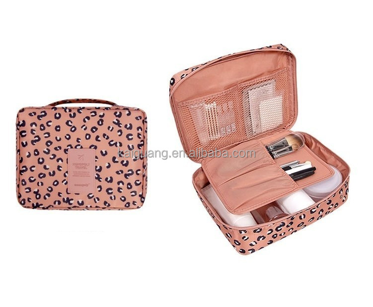 Women Travel Purse Organizer Cute Cosmetics bag Make up Storage bag Pouch High quality Lady Toiletry Wash bag Handbag