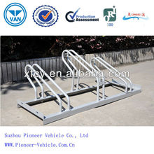 China Factory Bicycle Standing Rack/ Outdoor Metal Parking Rack (ISO Certified)
