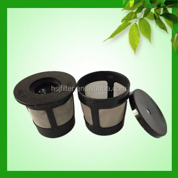 Steel wire mesh reusable k -carafe coffee maker parts filter
