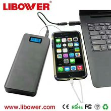 Libower Quick charge 2.0 powerbank 15600mah Power Bank for laptop ,tablet ,cell Phone Portable Charger Power Bank Battery