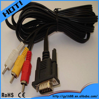 Factory price good quality vga rca red white yellow rca and vga jack