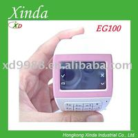 EG100 Triband watch phone with Numeric keypad FM and 1.5