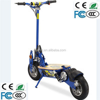 2 wheel cheap stand up snow gas scooter