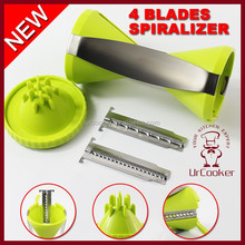 Factory wholesale kitchen spiral slicer spiral vegetable slicer potato slicer