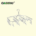 multi-functional stainless steel cloth rack/Clothespins/Peg/Clothes hanger for hanging drying