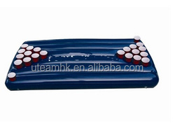 Customized logo inflatable beer pong tables/uteam