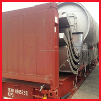 China experienced manufacturer 10ton Used tyre pyrolysis oil machine wtih CE