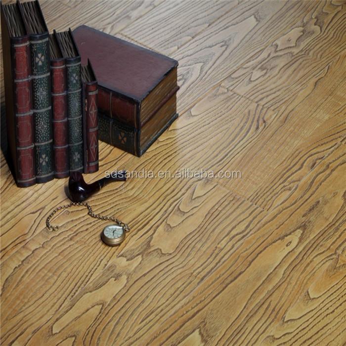 Decorative Beech Wood Hdf Laminate Flooringinstalling 12mm Pink
