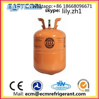 refrigerant gas R404a price for sale with 99.9% purity