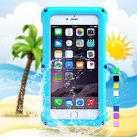 Professional Material Waterproof Mobile Phone Case For iPhone 6 Plus, for iPhone 6 Plus Waterproof Case