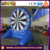 2017 inflatable target shooting game dart board
