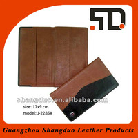 China Wholesale Price Fashion Design Leather Notebook Cover